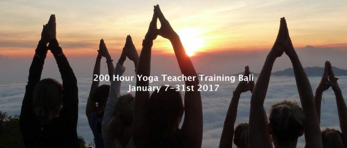 bali yoga teacher trainin