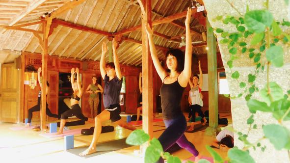 Bali 200 hour yoga teacher training November 2018