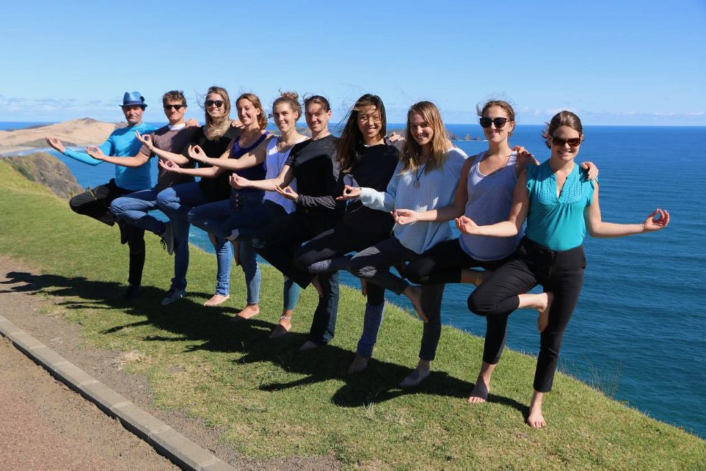New Zealand Yoga Teacher Training Cape Reinga