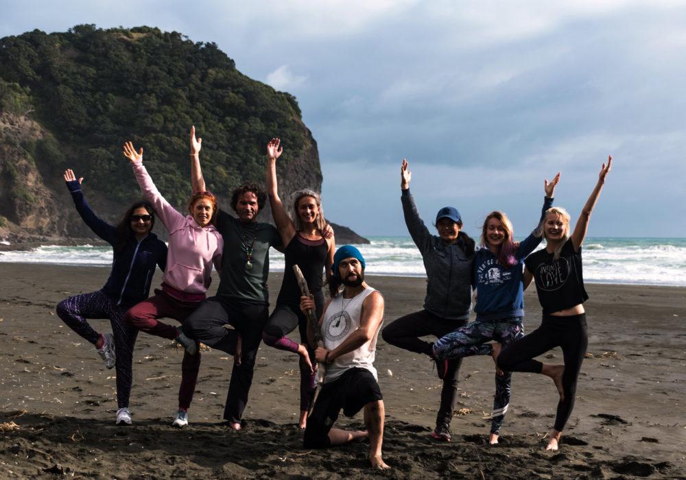 NEW ZEALAND YOGA TEACHER TRAINING PIHA