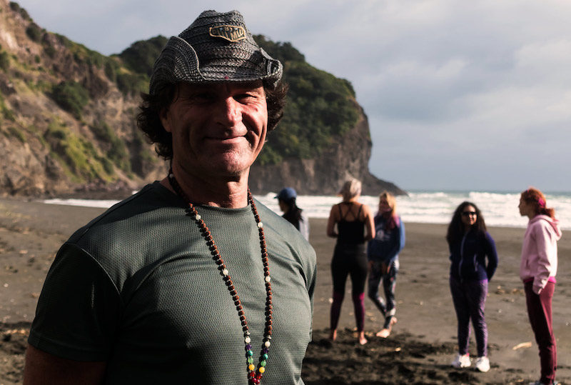 Steve Hall Tahiti New Zealand Yoga Teacher Trainer