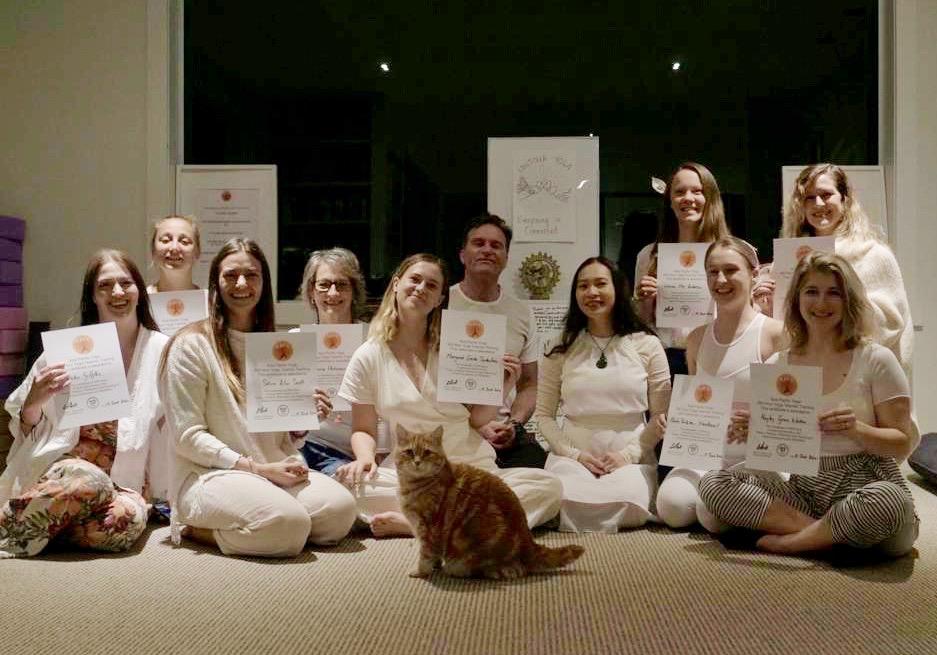 Asia Pacific Yoga Graduation May 2020 Taupo