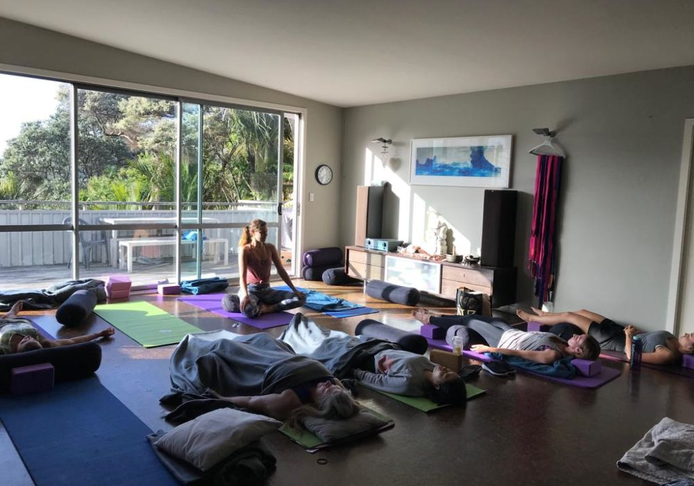 New zealand yoga teacher trainings