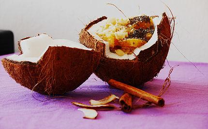 Vegan Food Nathalie Asia Pacifc Yoga Teacher Training Tahiti