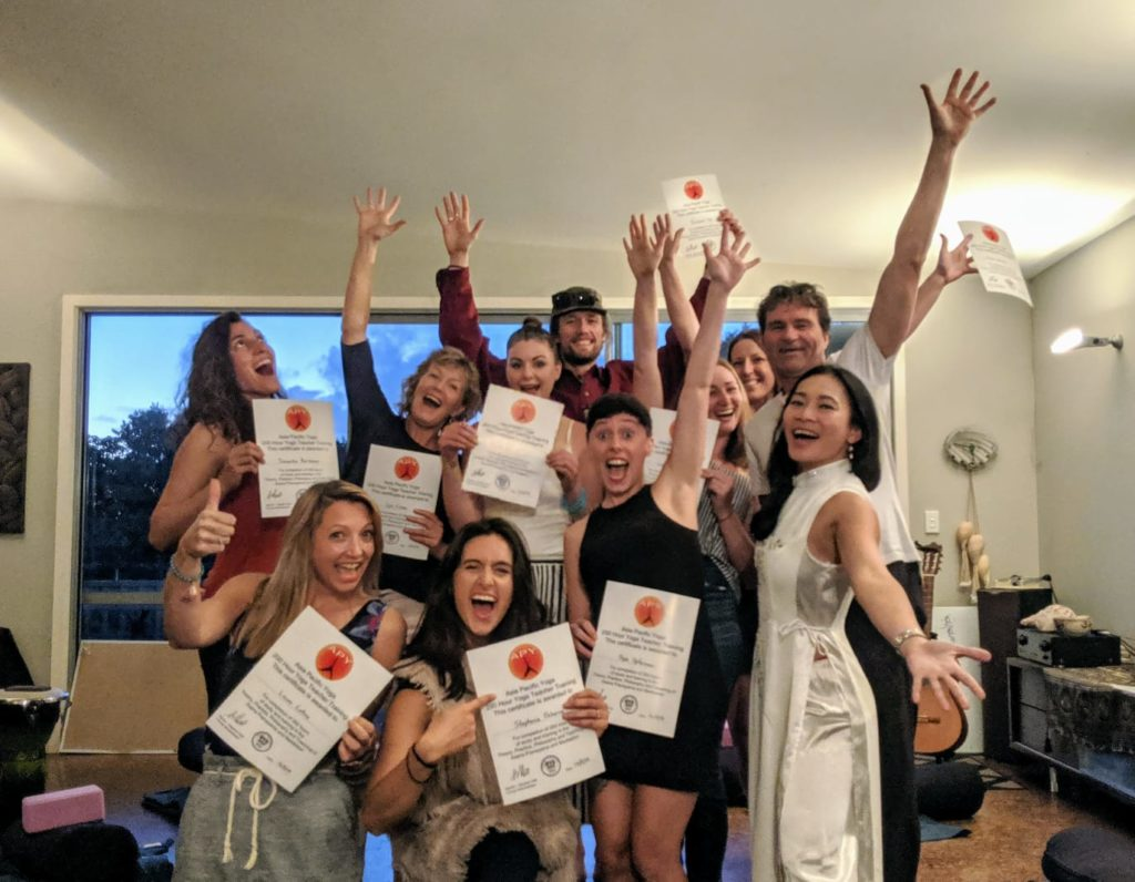 Asia Pacific Yoga Graduation