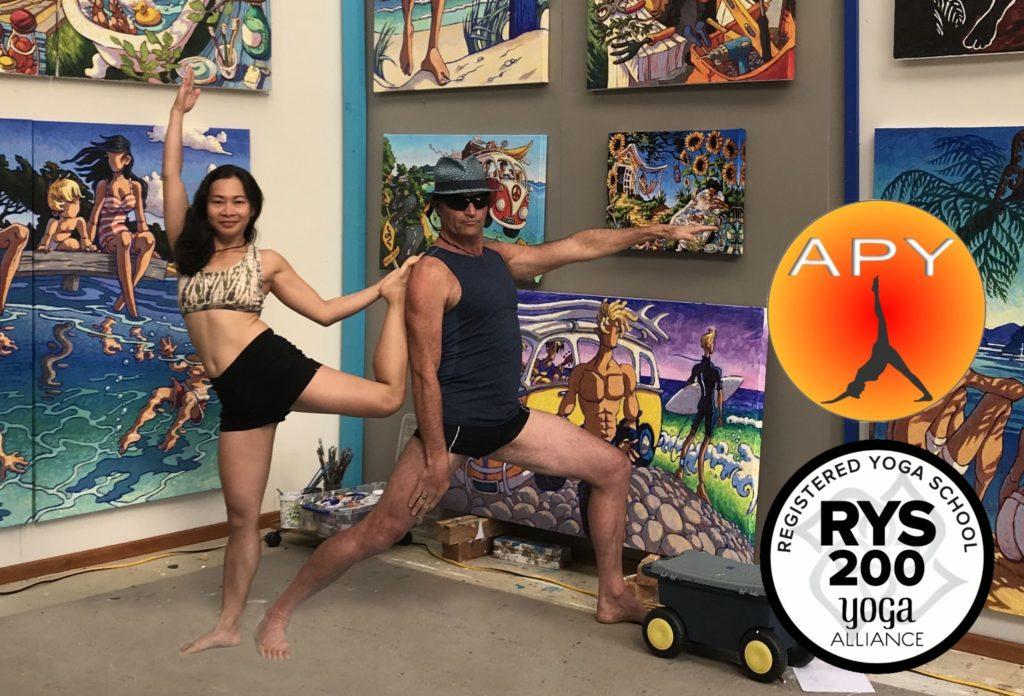 Asia Pacific Yoga Teachers Steve and Joleen