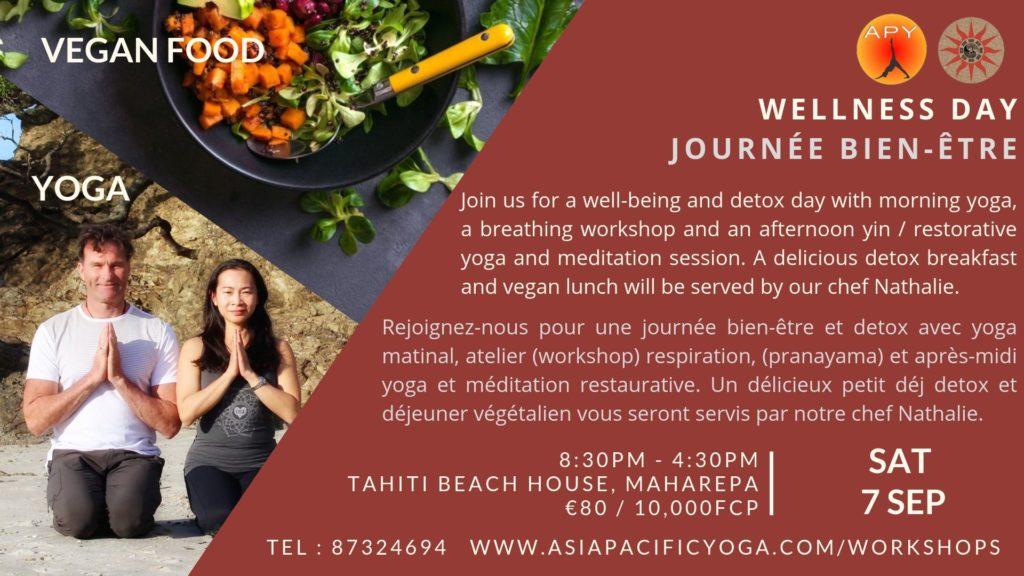 Asia Pacific Yoga Mo'orea Tahiti Wellness & Detox Day