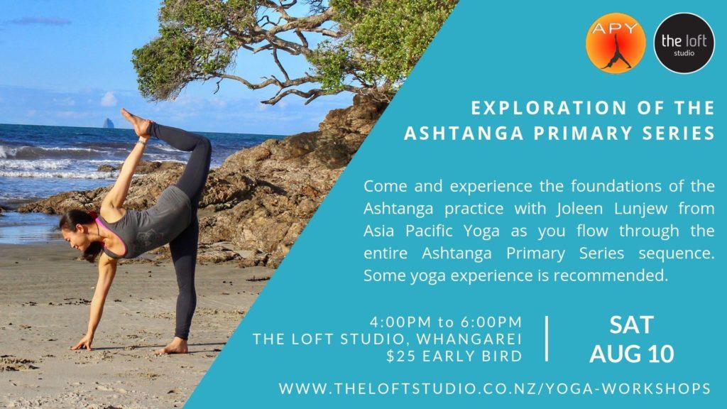 Ashtanga Primary Series-Asia Pacific Yoga Workshop
