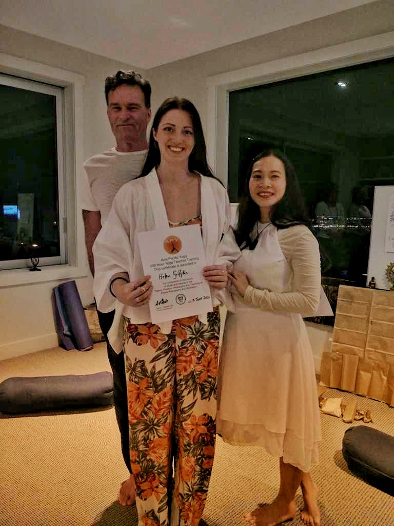 Asia Pacific Yoga Graduation May 2020 Taupo