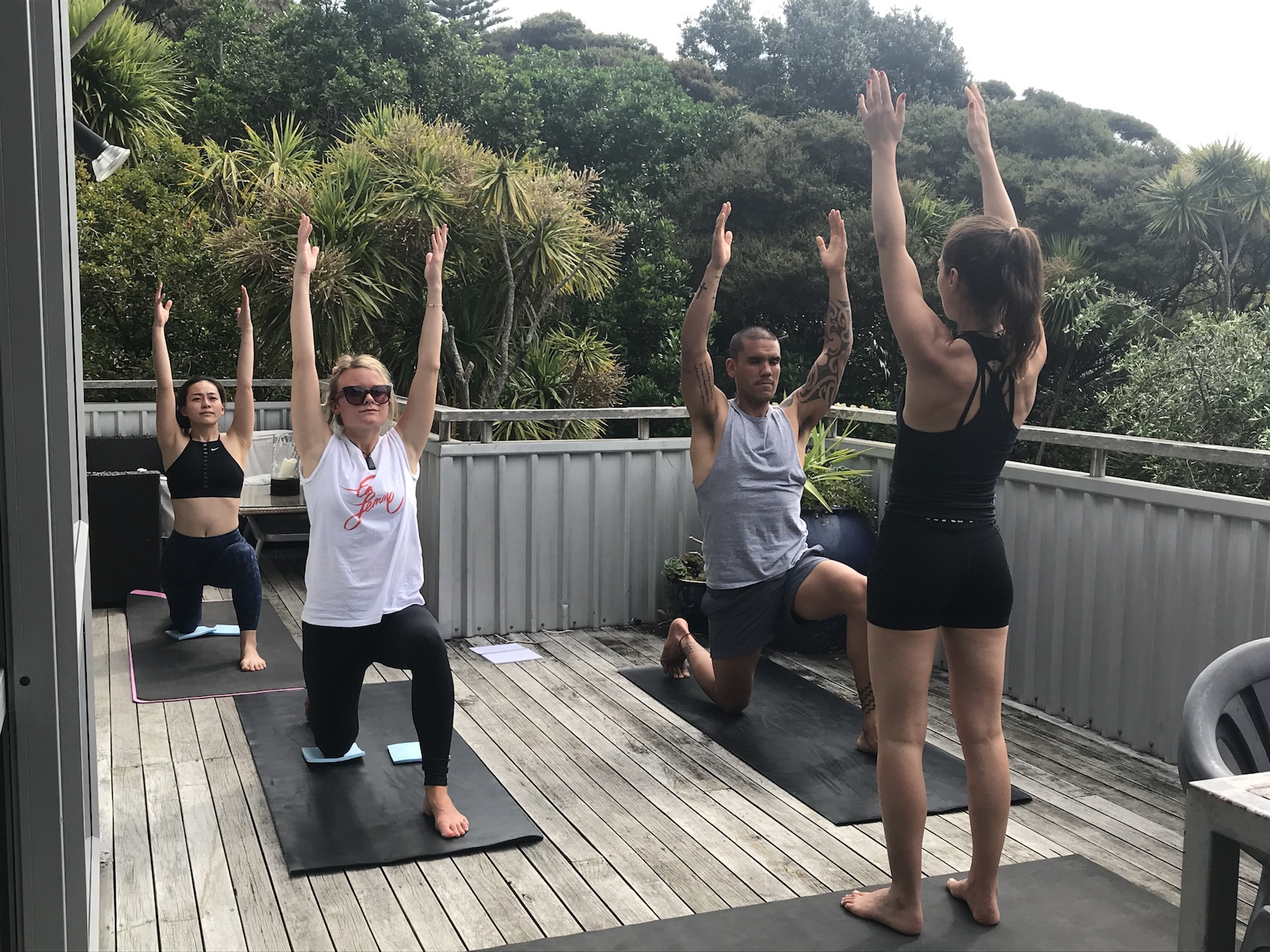 Asia Pacific Yoga Teacher Training Piha Holiday Home 1