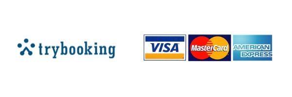 Trybooking Visa Master Card AMEX