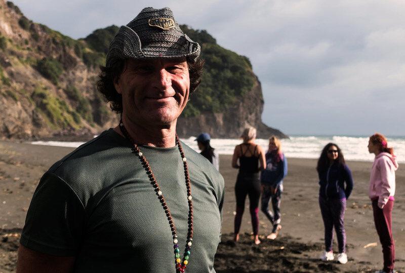 Steve Hall Tahiti New Zealand Yoga Teacher Trainer